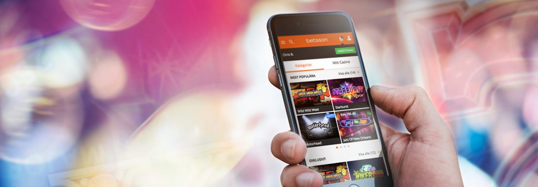 jouer casino sur smartphone